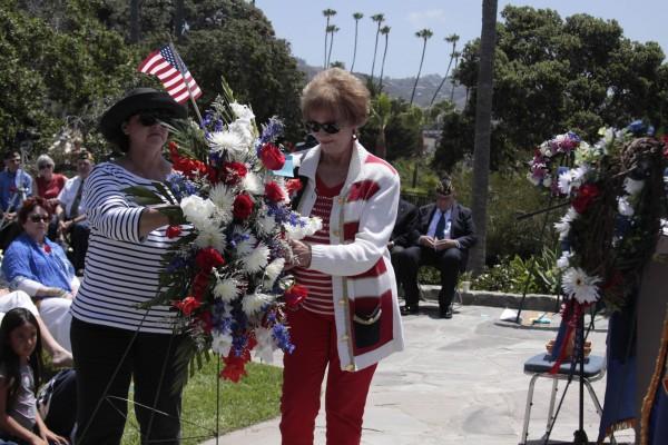 Anita Mengels and Pat Kollenda