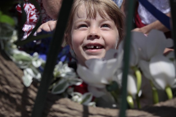 Katie Baker delights in the Memorial Day floral tributes.