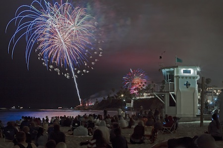 Fireworks show of 2012. Photo by Matt Ridder