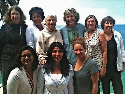 Board members, from left, front row:  Kavita Reddy, Ellie Tipton Ortiz, Andrea Miller; back row, Cheryl Kinsman, Connie Burlin, Jane Egly, Elsa Brizzi, Barbara Crane and Peggy Thomas.