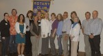 Rotary's grant recipients.