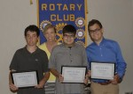 Rotary Club Recognizes Students