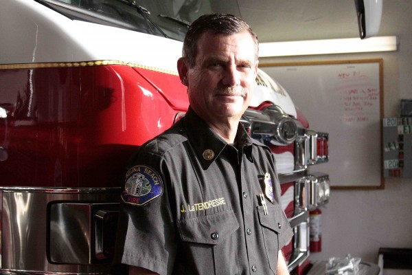 Laguna Beach Fire Chief Jeff LaTendresse