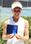 Local Tennis Prodigy Proving Her Potential