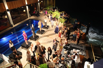 A fashion showcase at a previous Girls Night benefit.