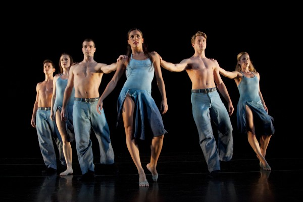 """""""Round My World,"""" a Brazilian influenced work in the Laguna Dance Festival line-up, which begins with master classes next week. Photo by Krista Bonura"""