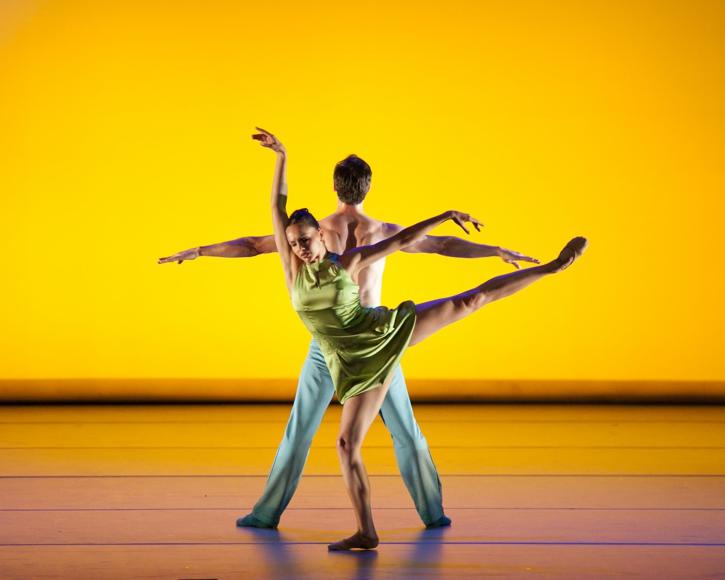Aspen Santa Fe Ballet performs in Saturday's Dance Festival show. Photo by Sharen Bradford