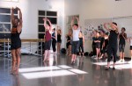Dancer Desmond Richardson, who has performed at the Laguna Dance Festival, teaches a master class earlier this year.