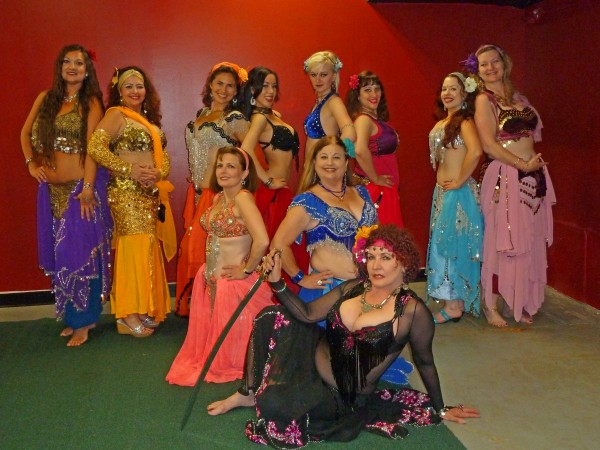 Some of the Habibis' dancers.