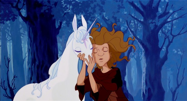 "Digitally Restored 1982 animated classic ""The Last Unicorn."""