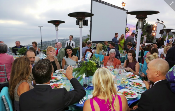 The scene at Ocean's sixth Laguna Beach fundraiser.
