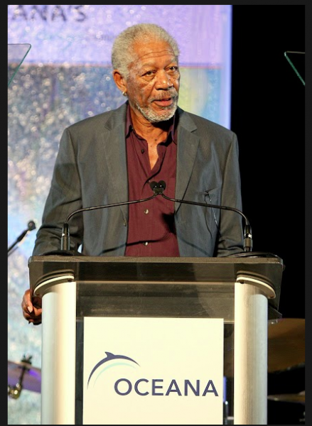 Actor Morgan Freeman.