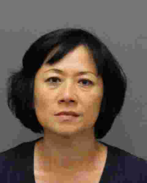 Angel Liu, arrested for suspicion of prostitution.