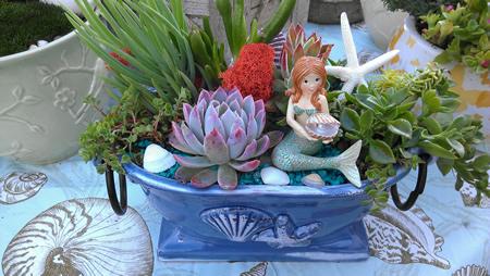A sample of Secret Garden wares.