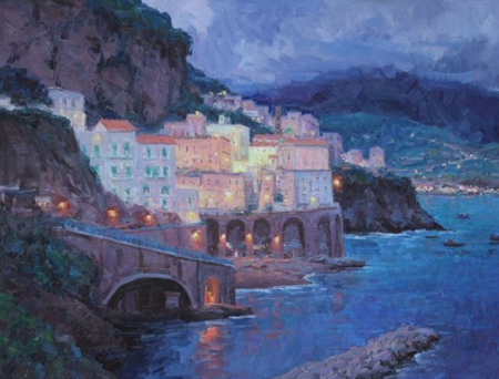 A sample of the Amalfi Coast exhibition.
