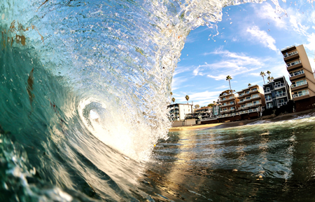 Sean Brown's view of Pacific Edge Hotel.