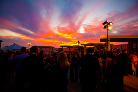 Nature put on its own show at last year's Alliance gala.