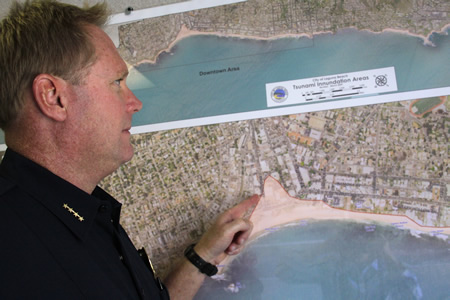 Property near Aliso Creek would also likely be flooded by a tsunami