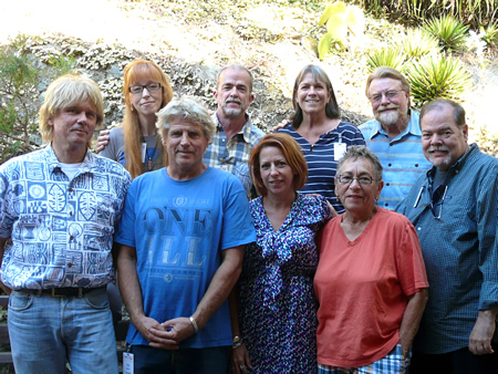 Sawdust Festival's board for 2012-13.