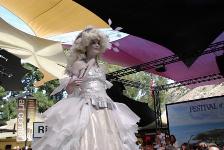 Marie Antoinette inspired ensemble.