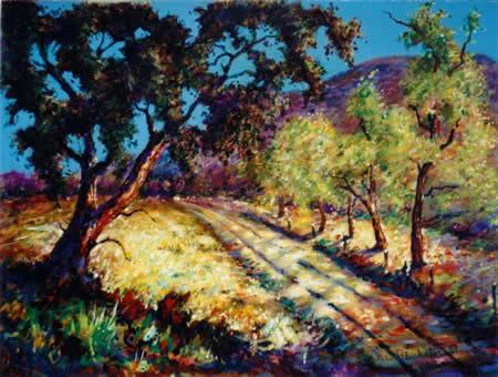 Aliso Canyon-Fence Line Road- circa 1920's