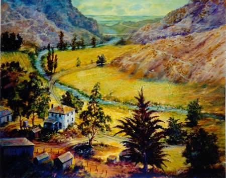 Thurston Homestead - Aliso Canyon-Circa 1900's