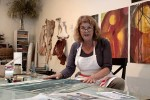 Printmaker Sheryl Seltzer is opening her studio again during the Open Studios tours.