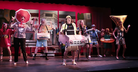 "Mold, which pulled the curtain on this year's ""Lagunatics,"" will certainly become fodder for a spoof like this riff on traffic from a previous show."