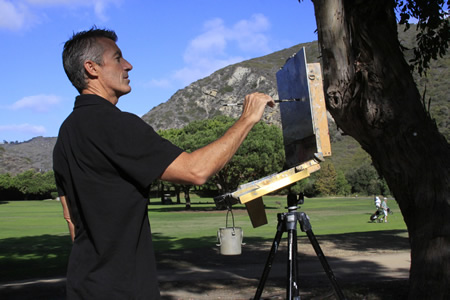 Local Michael Obermeyer, a veteran of 14 previous Invitationals, looks forward to capturing Aliso Canyon's little known views.
