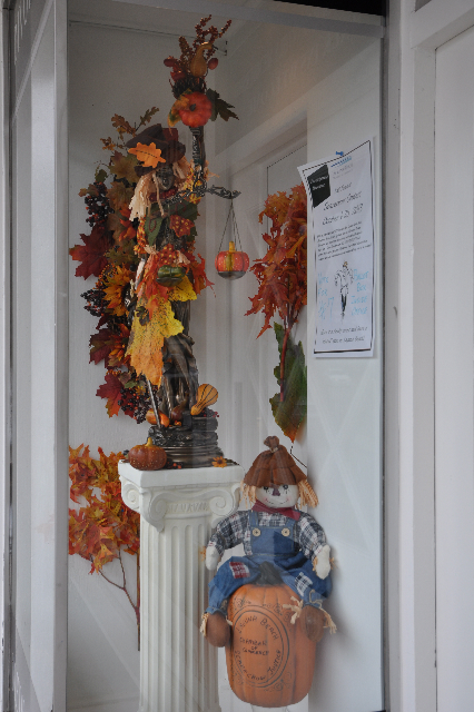 """Laguna Beach Legal hopes to win in the category of best business theme by creating """"Scarecrow Justice."""""""