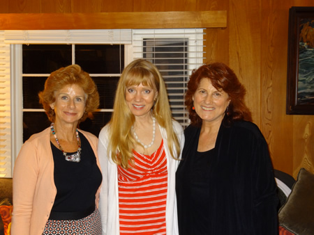 From left, Leslie Anne Mogul, Carla White and Donna Inglima.