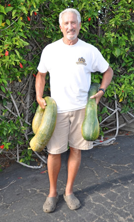 Myron Wacholder's success with Tahitian squash.