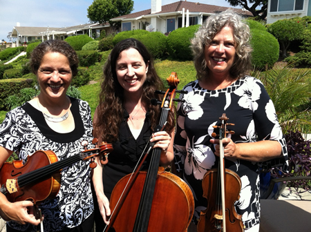 3 getting out strings Julie Ayer & friends