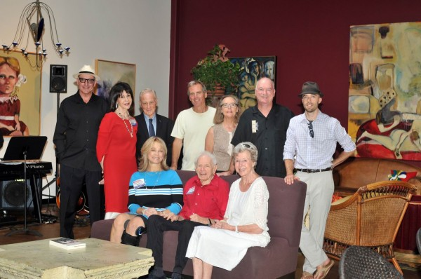 Let Laguna Vote supporters, from left, front; Sue Lowden, Arnold Hano and Pamela Goldstein; rear, Howard and Rita Conn, Dick Frank, Billy Fried, Jennifer Griffiths, John Monahan and Eric Sargeant.