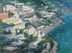 "Pictured is Taylor's ""Positano Overlook."""