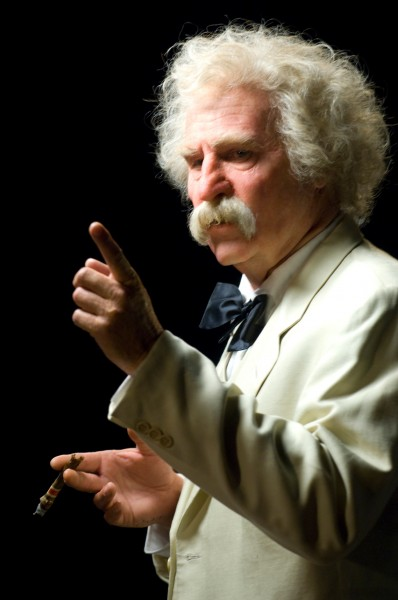Val Kilmer as Mark Twain Photo by Neil Jacobs