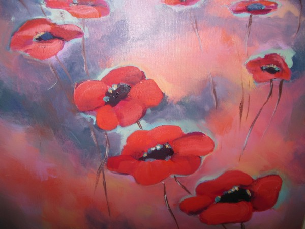 """Poppies"" by Diana Wypich"