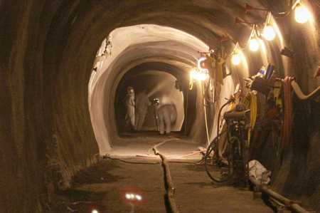 South coast Water District's tunnel.