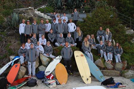 Photo by Michael Bryant This year's surf team.