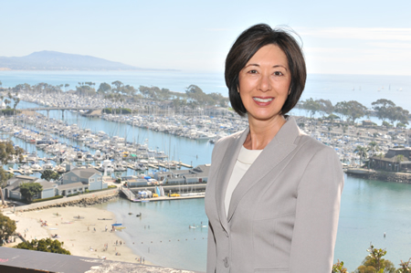 Dana Point's Mayor Lisa Bartlett announced her candidacy for the  county Board of Supervisors' fifth district, which includes Laguna Beach and 15 other south-county cities.