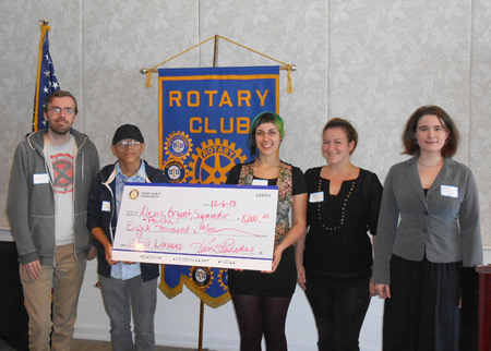 LCAD students receive Rotary awards.
