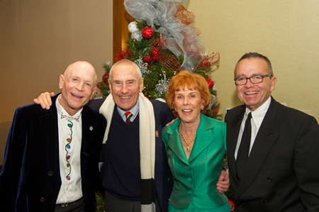 Laguna Beach residents Bill Gillespie, Al Roberts, Janice Johnson and Ken Jilson joined the chorale gala.
