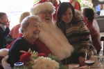 Santa provides some good cheer at the Laguna Beach Seniors lunch held on Monday, well attended by the entire City Council as well as the current and former city manager and scores of supporters.