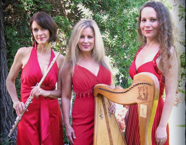 Angels descend for earth-bound museum concert.