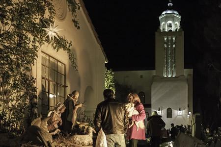 Goodness and light reigned at Laguna Presbyterian Church's nativity scene.
