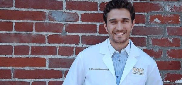Dr. Alex Kalmanovitch, who fled from the former Soviet Union with his parents, took over dentist Barbara Hawthorne's practice.