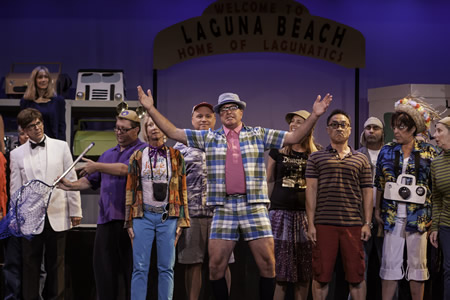 "Steve McIntosh leads the cast of ""Gagtime: Lagunatics 2014,"" the annual roast of the town's antics, which opens this Friday, Jan. 17. Photo by Mitch Ridder"
