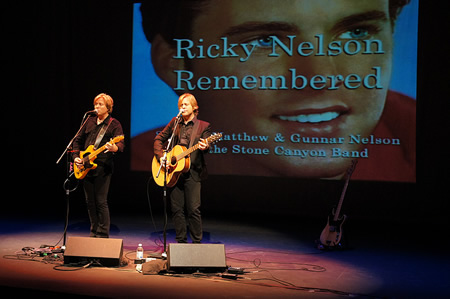 Gunnar and Matthew Nelson play the Coach House this Sunday, Jan. 12, a tribute to their father Ricky Nelson.