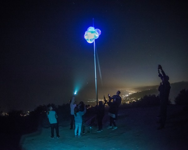 Enterprising residents imitated New York's New Year's Eve ball drop with one atop Aliso Peak, cheered by scores of residents below. Unfortunately, the sender did not include their identity. Police made five DUI arrests during the night's revelry compared to last year's three. One included a Laguna Beach man who struck and injured a Laguna Hills woman in a Glenneyre Street crosswalk.
