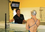 With Technology, Coach Helps Swimmers Excel